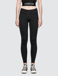 Calvin Klein Performance Full Length Legging With Logo Side Panel Picutre