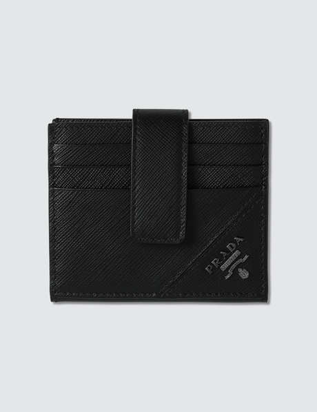 프라다 Prada Logo Credit Card Holder