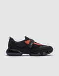 Prada Upper Cloud Bust Contrast Velcro Sneaker Picture