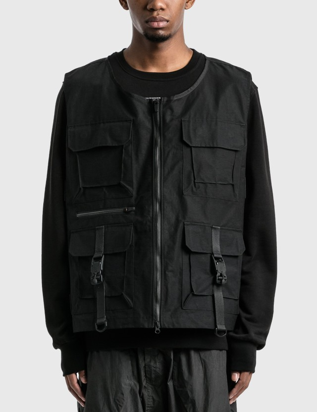 Tobias Birk Nielsen Tactical Vest Black Men