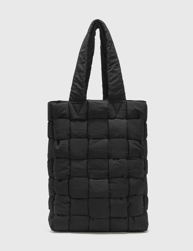 Bottega Veneta Padded Light Paper Nylon Tote Bag