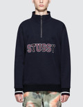 Stussy Contrast Rib Mock Neck Picture