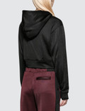 Alexander Wang.T Sleek French Terry Twistfront Hoodie