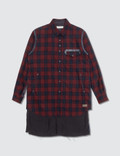 Undercover John Undercover × Pendleton Red Check Shirts Picture