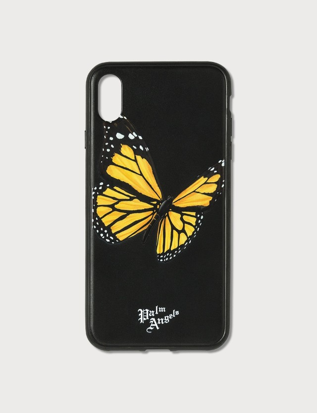 Palm Angels Butterfly iPhone Case Xs Max Black Multi Unisex