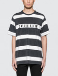 Calvin Klein Performance Stripe Print S/S T-Shirt Picture