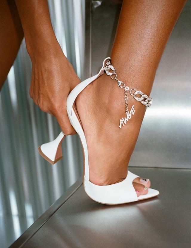 Amina Muaddi Amina Muaddi x Awge Flacko Sandal