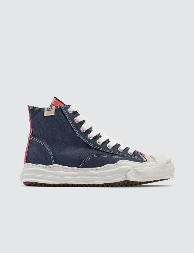Maison Mihara Yasuhiro Original Sole Toe Cap Hi Canvas Sneaker