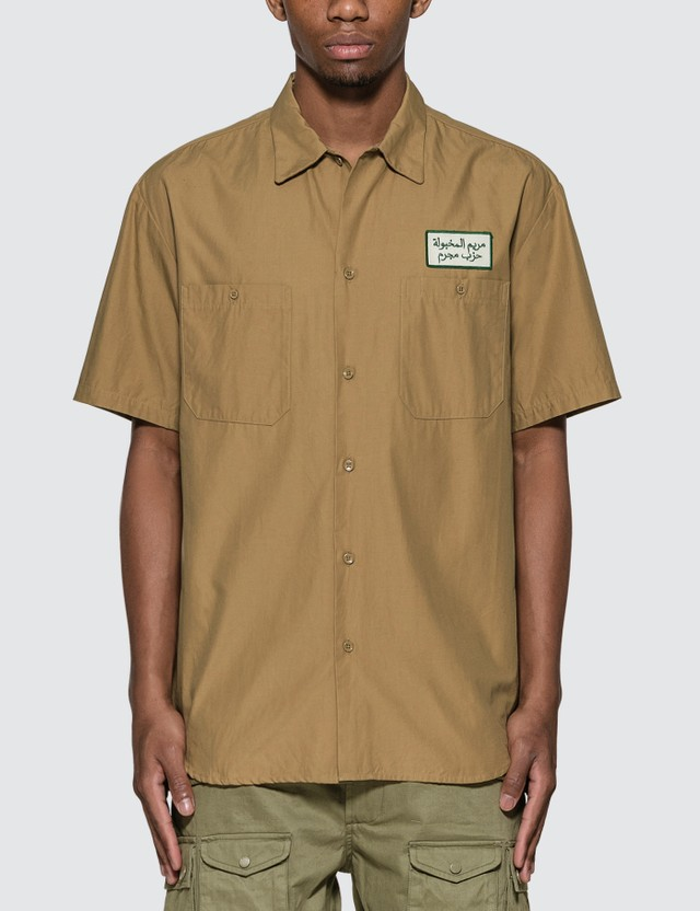 Wacko Maria Wacko Maria x Tim Lehi Work Shirt (Type-1) Beige Men