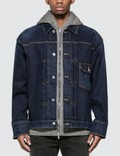 Mastermind World Hooded Layer Skull Denim Jacket Picutre