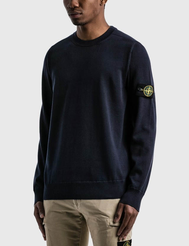 Stone Island Crewneck Sweater Navy Blue  Men