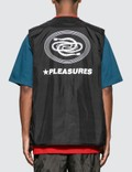 Pleasures Forever Nylon Vest Black Men