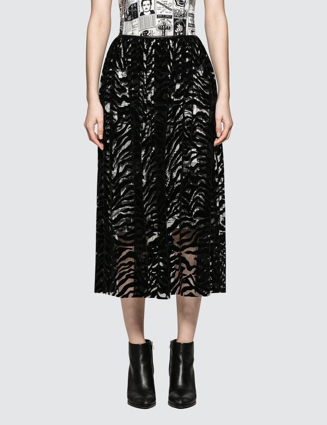 Ashley Williams Flock Skirt
