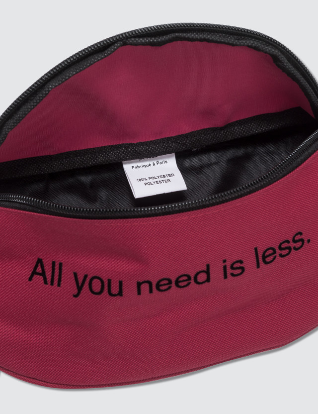 Fuck Art, Make Tees All You Need Is Less. Bum Bag