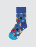 Happy Socks Kids Big Dot Sock Gift Set (Pack of 2) Picture