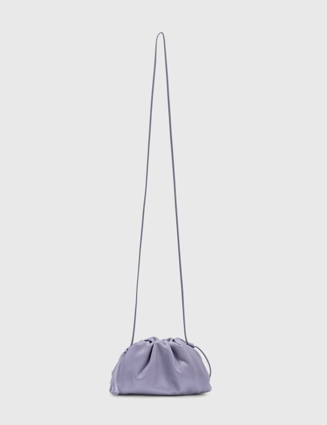 Bottega Veneta The Mini Pouch Lavender-silver Women