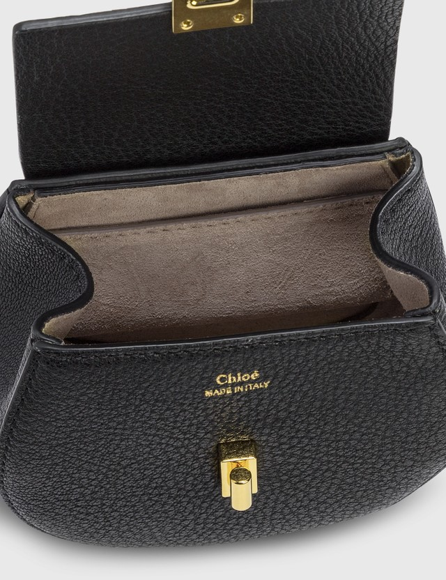 Chloé Mini Drew Cross Body Backpack Black Women