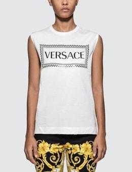 Versace Box Versace Logo Tank Top