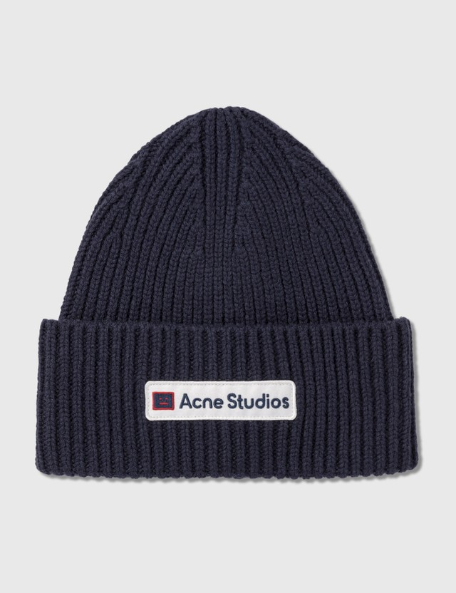 Acne Studios Logo Patch Wool Beanie