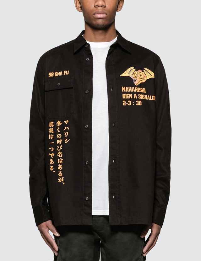 Maharishi Wise Tygers Shirt