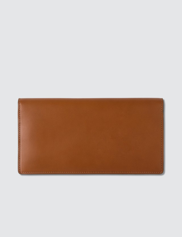 Maison Margiela Leather Fold-over Wallet
