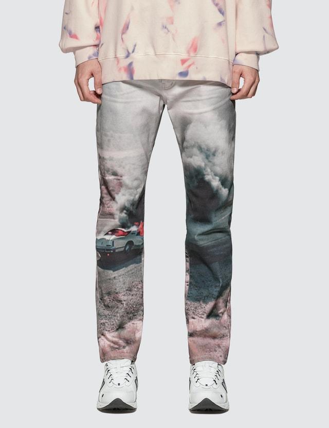 Lost Daze Car Crash Jeans