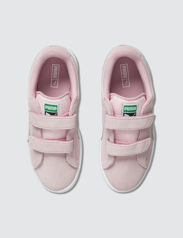 Puma Suede 2 Straps (Kids) Pink Kids