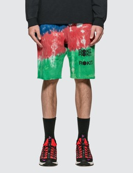 Rokit The Cosmo Tie Dye Shorts