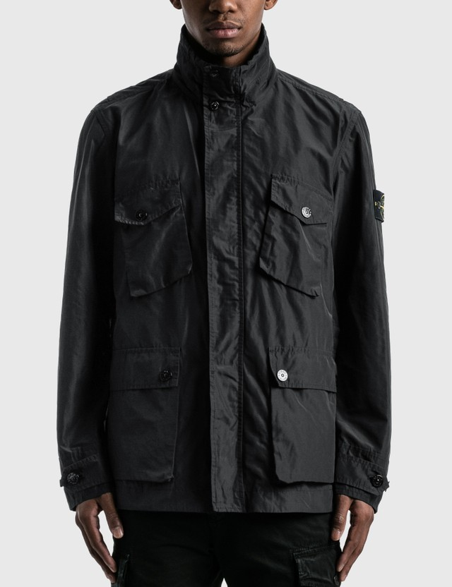 Stone Island Field Jacket Black  Men