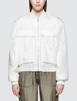 Katharine Hamnett Raffa Silk Bomber Jacket