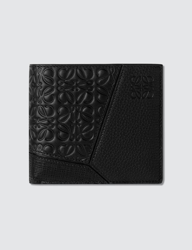 Loewe Puzzle Multi-texture Bifold Wallet