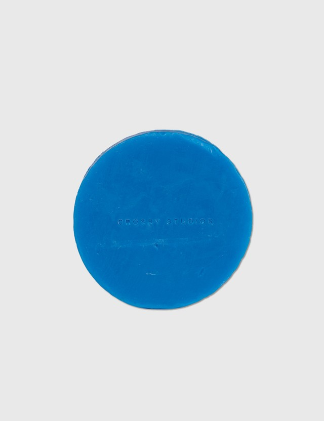 Crosby Studios Tea Ritual Hockey Puck Soap Blue Unisex