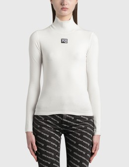 Alexander Wang.T Turtleneck Bodycon Top