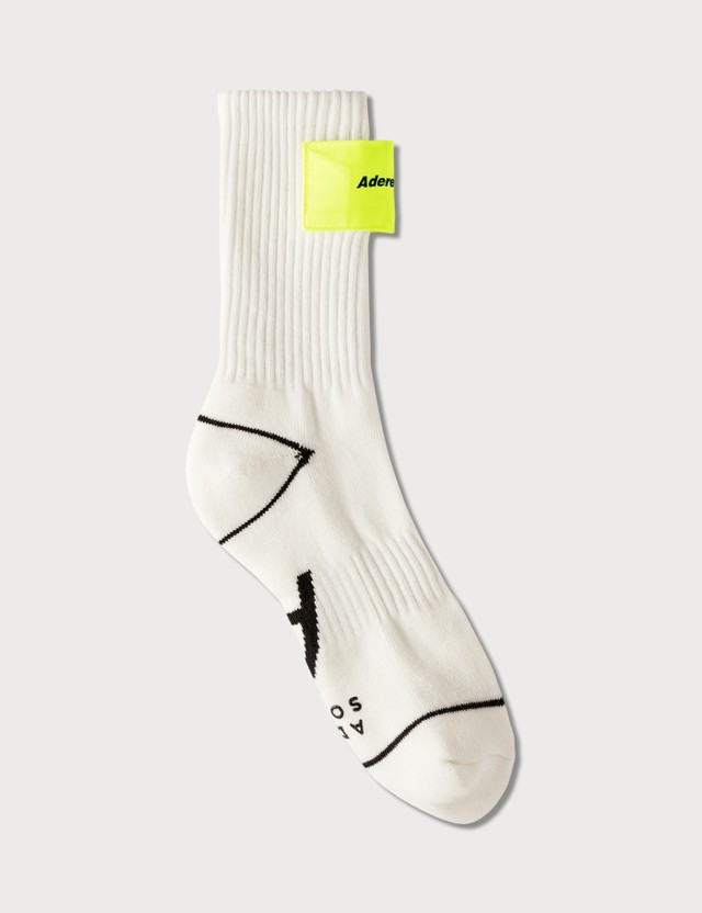 Ader Error Logo Velcro Socks