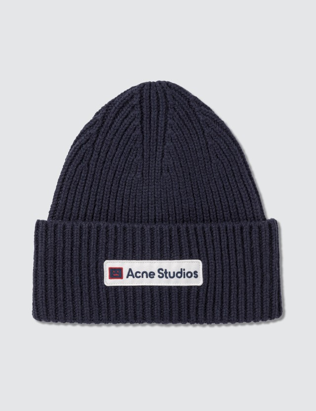 Acne Studios Logo Patch Wool Beanie