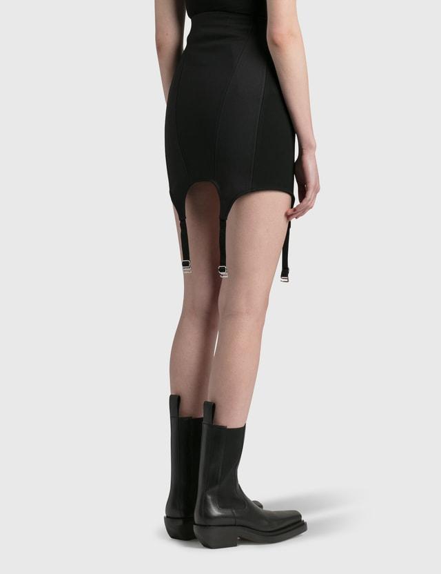 Dion Lee Corset Garter Skirt Black Women