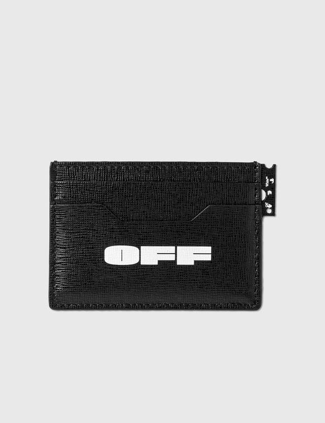 Off-White Logo New Card Holder Black White Women