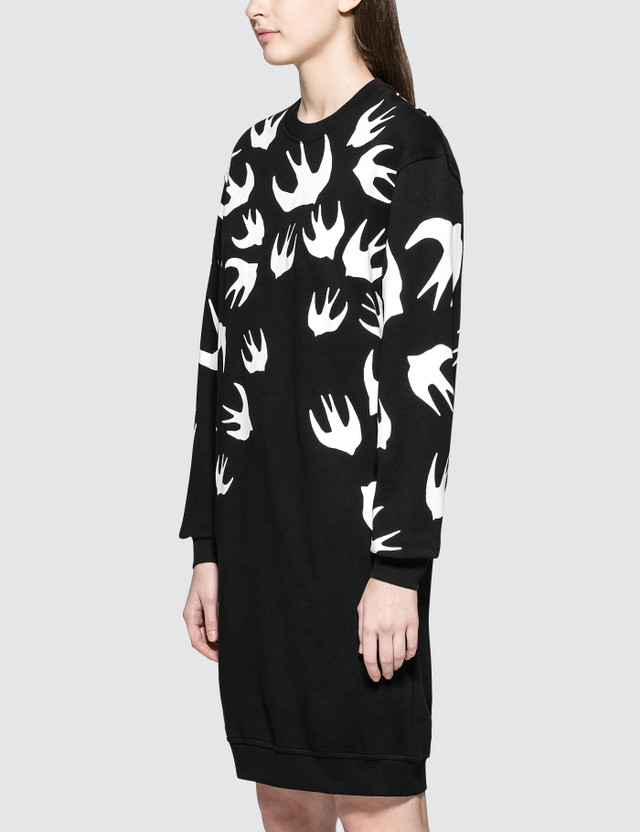 McQ Alexander McQueen Classic Sweat Dress