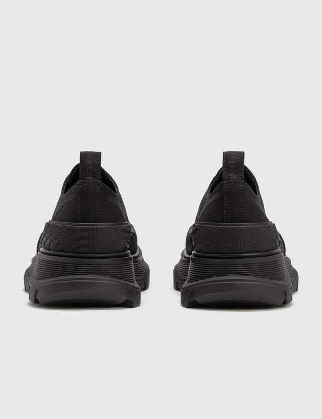 Alexander McQueen Tread Slick Lace Up Black/black/black Men