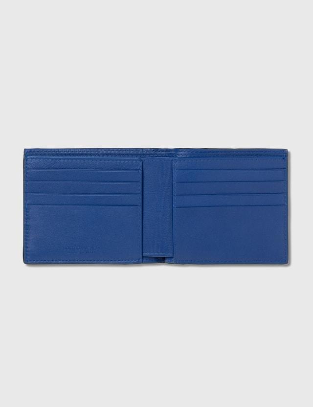 Bottega Veneta Intrecciato Bicolor Billfold Wallet