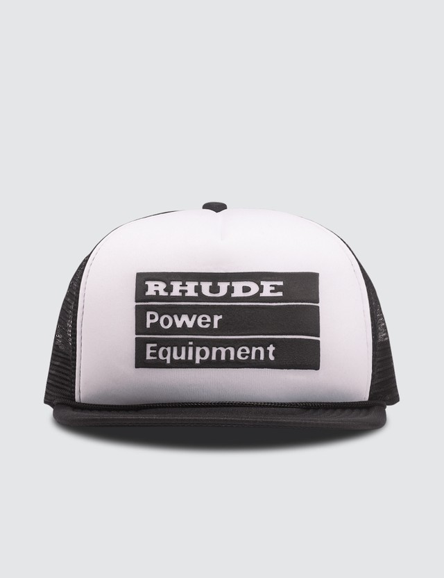 Rhude Power Equipment Trucker Cap