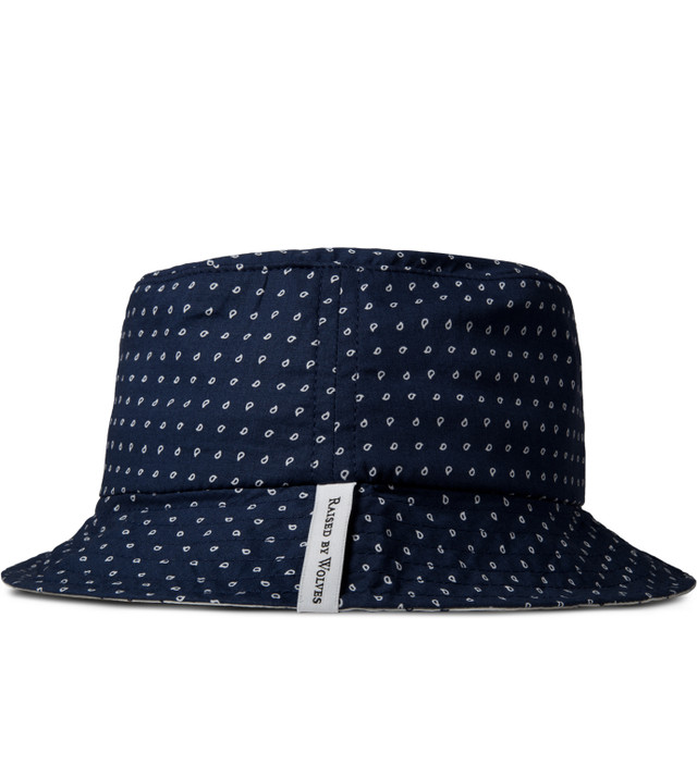 a0cc321c967 Raised By Wolves - Navy Morocco Blues Gatineau Bucket Hat