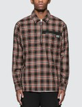 Burberry Check Wool Shirt Picutre