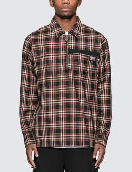 Burberry Check Wool Shirt