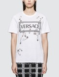 Versace Box Logo With Pins T-shirt Picture