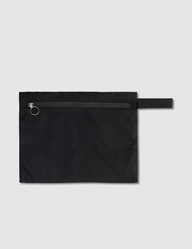 """Off-White """"LAUNDRY"""" Pouch"""