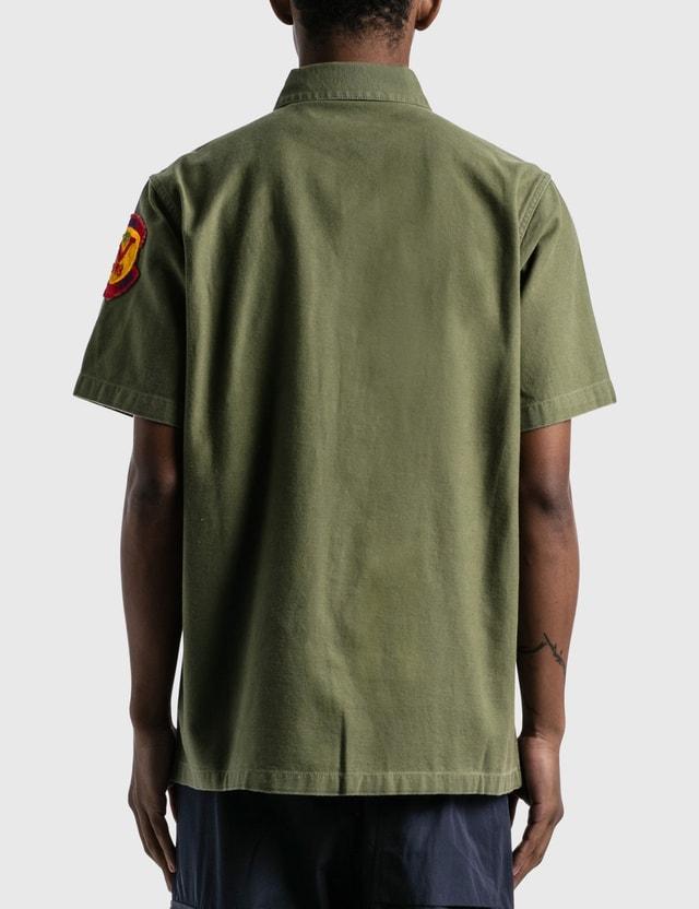 Maharishi 3rd Pattern Mod Utility Shirt Olive Men