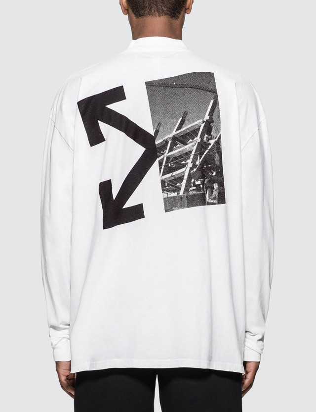 Off-White Splitted Arrows Over Mock T-Shirt
