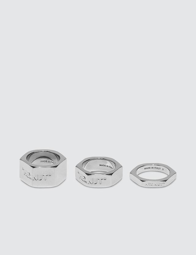 Off-White Bolt Ring