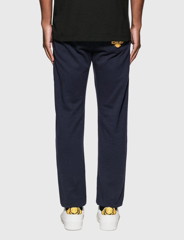 Versace Embroidered Medusa Trackpants